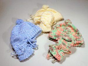 Baby Hat and Mitten Set